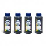 Чернила OCP для Epson BX305F, SX535WD, BX320FW, B42WD, BX625FWD, BX635FWD, SX620FW, T27, TX106, TX117, B-510DN, B-310N, B-300, B-500DN пигментные, комплект 4 x 100 г.