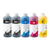 Чернила для Epson Expression Premium XP-640, XP-630, XP-600, XP-830, XP-700, XP-800, XP-610, XP-810, XP-605, XP-820, XP-620, XP-530, XP-710, XP-520, XP-900, XP-510, XP-540, XP-625, XP-645, пигмент + водные InkTec, 5 x 1 литр