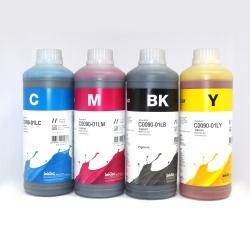 Чернила для заправки Canon PIXMA G3400, G1400, G2400, G4400, G1410, G2410, G3410, G4410, G1411, G1416, G2411, G3411, G4411, G2415, G3415, G5040, G6040, G7040 (GI-490, GI-40) пигментные + водные InkTec, комплект 4 х 1 литр