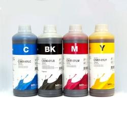 Комплект чернил для Canon Pixma MG2440, MG2540S, MG3040, iP2840, MG2540, TS3140, TS3340, TS3440, TS5340, TS7440, TR4540, MG2940, MG2545S, MX494, TS304, TS204 (картриджи PG-445, CL-446, PG-460, CL-461) InkTec пигментные + водные, 4 х 1 литр