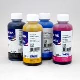 Чернила для HP DeskJet 2130, 2620, 2630, 2632, 3639, Ink Advantage 3635, 3636, 4535, 2135, 1115, 3775, 3785, 3788, 3790, 3835, 5075, 4675, 5275, 3787 (картриджи 123 и 652), пигментные + водные, InkTec 4 цвета по 100 мл