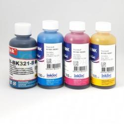 Чернила для Brother LC980, LC985, LC1240, LC1280, LC3617, LC3619, LC563, LC565, LC567, LC37, LC38, LC960, LC970, LC1000, LC900, LC1100, LC1000, LC970, LC960, LC57, LC51, LC529, LC527, MyInk + InkTec водорастворимые, комплект 4x100 мл