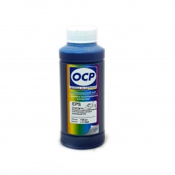 Чистящая (промывочная) жидкость OCP ECI для реанимации печатающих головок принтеров Epson (синяя), 100 мл