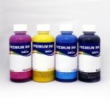 Чернила для HP DeskJet 2320, 2710, 2720, HP DeskJet Plus 4120, 4130 (для заправки черных и цветных картриджей 305, 305XL), InkTec пигмент + водные, 4 x 100 мл