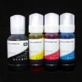 Чернила для Epson L4160, L4150, L6160, L6170, L6190, комплект 4 цвета