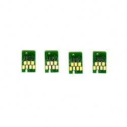 Чипы для ПЗК/ДЗК к Epson Stylus Pro 7450, 9450, 7400, 9400 (для перезаправляемых картриджей), комплект 4 штук