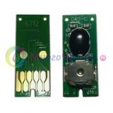 Чип для памперса к Epson WorkForce Pro WF-8090, WF-8590, WF-6590, WF-6090, EF-8510, WF-8010, WF-R8590, не обнуляемый, одноразовый (для ёмкости с отработанными чернилами T6712)