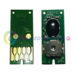 Чип для памперса к Epson WorkForce Pro WF-8090, WF-8590, WF-6590, WF-6090, EF-8510, WF-8010, WF-R8590, не обнуляемый, одноразовый (для ёмкости с отработанными чернилами)