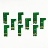 Чипы для картриджей (ПЗК/ДЗК) для Epson Stylus Pro 3880 (T5801-T5809), авто обнуляемые, комплект 9 цветов