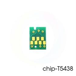 Чип Matte Black для перезаправляемых картриджей (ПЗК/ДЗК) плоттеров Epson Stylus Pro 4000, 4400, 4800, 7600, 9600, (T5438 матовый черный)