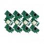 Чипы для ПЗК к Canon imagePROGRAF PRO-2000, PRO-4000, PRO-6000 (под картриджи PFI-1700, PFI-1300, PFI-1100), не обнуляемые, комплект 12 цветов