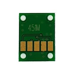 Чип для Canon PIXMA iP7240, MG5440, MG5540, MG6440, MG6640, MX924, iX6840, MG7140, MG6340, iP8740, MG7540, Magenta (красный), не обнуляемый для картриджей, ПЗК, СНПЧ
