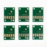 Чипы для картриджей, ПЗК и СНПЧ для Canon PIXMA MG7740, TS8040, TS9040 (PGI-470, CLI-471), не обнуляемые, комплект 6 цветов