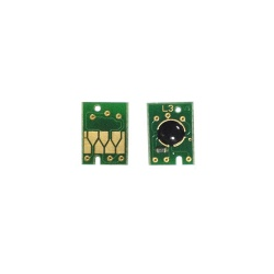 Чип для светло-голубого картриджа ПЗК и СНПЧ для Epson Stylus Pro 4880 (T6055, T6065) Light Cyan, не обнуляемый, совместим с ресеттером