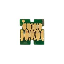 Чип для Epson WorkForce Pro WF-C8190DW, WF-C8690DWF (под ориг. T04A2 / T04B2 / T04C2), для ПЗК (перезаправляемых картриджей), одноразовый, голубой Cyan