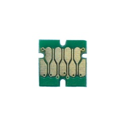 Чип для Epson SureColor SC-T3100, SC-T5100, SC-T3100N, SC-T5100N (T40D4), для картриджей / ПЗК / СНПЧ, совместимый необнуляемый, жёлтый Yellow