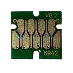 Чип для Epson SureColor SC-T3000, SC-T3200, SC-T5000, SC-T5200, SC-T7000, SC-T7200, для картриджа Cyan (T6942), не обнуляемый, 7-серийный