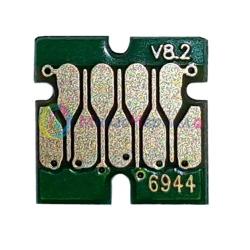Чип для Epson SureColor SC-T3000, SC-T3200, SC-T5000, SC-T5200, SC-T7000, SC-T7200, для картриджа Yellow (T6944), не обнуляемый, 7-серийный