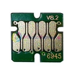 Чип для Epson SureColor SC-T3000, SC-T3200, SC-T5000, SC-T5200, SC-T7000, SC-T7200, для картриджа Matte Black (T6945), не обнуляемый, 7-серийный
