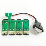 Чип к СНПЧ для Epson WorkForce WF-2520, WF-2530, WF-2540, Expression Home XP-100, XP-200, XP-300, XP-310, XP-400, XP-410 (T200XL) с кнопкой сброса  (планка чипов)