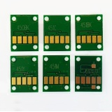 Чипы для Canon PIXMA MG7140, MG6340, iP8740, MG7540, не обнуляемые, комплект 6 цветов