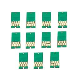 Чипы для картриджей (ПЗК/ДЗК) для широкоформатных принтеров Epson SureColor SC-P7000, SC-P9000 + модели Spectro (T8241-T824B, T8041-T804B), комплект 11 цветов
