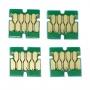 Чипы для Epson WorkForce Pro WF-C5290DW, WF-C5790DWF (T9451-T9454), совместимые, не обнуляемые, комплект 4 цвета