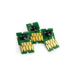 Чипы для перезаправляемых картриджей (ПЗК/ДЗК) к Epson SureLab SL-D700 (совм. T7821-T7826), одноразовые, комплект 6 цветов
