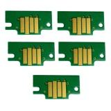 Чипы для картриджей PFI-120 для Canon imagePROGRAF TM-200, TM-205, TM-300, TM-305, комплект 5 цветов