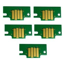 Чипы для картриджей PFI-107 для Canon imagePROGRAF iPF780, iPF680, iPF785, iPF685, комплект 5 цветов