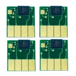 Чипы 953 для ПЗК и СНПЧ к HP OfficeJet Pro 8210, 8710, 7740, 7720, 8740, 8720, 8730, 7730, 8725, 8218, 8715 (картриджи HP 953 и 953XL), одноразовые, комплект 4 цвета