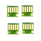 Чипы для Canon MAXIFY iB4040, iB4140, MB5040, MB5140, MB5340, MB5440 (PGI-2400), авто-обнуляемые, комплект 4 цвета