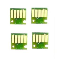 Чипы для Canon MAXIFY iB4040, MB5040, MB5340, MB5440 (PGI-2400), авто-обнуляемые, комплект 4 цвета