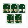 Чипы для картриджей, ПЗК и СНПЧ для Canon PIXMA MG6840, MG5740, TS5040, TS6040 (PGI-470, CLI-471), авто обнуляемые, комплект 5 цветов