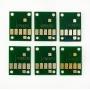 Чипы для ПЗК к Canon PIXMA MG7740, TS8040, TS9040 (PGI-470, CLI-471), автоматически обнуляемые, комплект 6 цветов