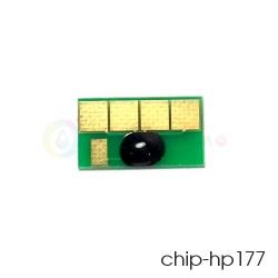 Чип Yellow 177 для ПЗК и СНПЧ для HP Photosmart C5183, C6283, D7163, 8253, D7263, C7283, 3213, D7463, 3313, D7363, C6183, C8183, C7183, (желтый C8773H), совместимый