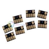 Чипы для картриджей (ПЗК/ДЗК) HP 70 для HP DesignJet Z2100, Z5200 (авто обнуляемые), независимые, 8 цветов