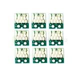 Чипы для Epson SureColor SC-P600 (для перезаправляемых картриджей, совм. T7601-T7609), авто обнуляемые, квадратные, комплект 9 цветов