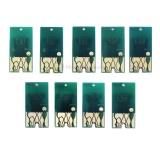 Чипы картриджей для Epson Stylus Pro 7890 и 9890, комплект 9 цветов