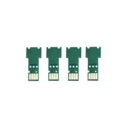Чипы для Brother MFC-J895DW, DCP-J572DW, MFC-J497DW, MFC-J491DW, DCP-J774DW, DCP-J772DW, MFC-J890DW (под картриджи LC3211 / LC3213), одноразовые, совместимые, комплект 4 цвета