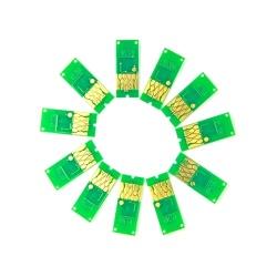 Чипы для Epson SureColor SC-P5000 (T9131-T9139, T913A, T913B), совместимые, не обнуляемые, комплект 11 цветов