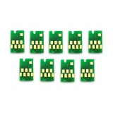Чипы для картриджей (ПЗК/ДЗК) к Epson SureColor SC-P800 (T8501-T8509), одноразовые, комплект 9 цветов
