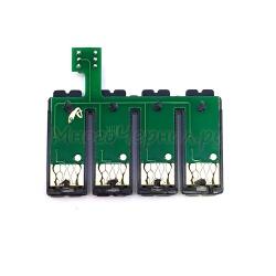 Чип к СНПЧ для Epson ME 32, 33, 35, 320, 330, 340, 350, ME OFFICE 82WD, 535, 560W, 570W, 620F, 900WD, 960FWD, WorkForce WF-7011, WF-7018, WF-7511 (картриджи T1411-T1414) с кнопкой сброса (планка чипов)