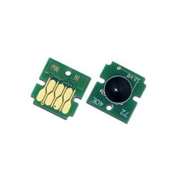 Чип для памперса T6714 (C13T671400) к Epson WorkForce Pro WF-C869RDTWF, WF-C869R, WF-C8190, WF-C8690DWF, WF-C8690, WF-C8190DW, WF-C8610DWF, одноразовый, размер как у оригинала
