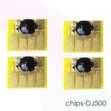 Чипы для картриджей  HP Designjet 500, 800, 500PS, 800PS, 815, 820 (картриджи HP 82 и 10), комплект 4 цвета