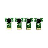 Чипы для картриджей Brother MFC-J5945DW, MFC-J6945DW, HL-J6000DW (совм LC3237, LC3239XL), одноразовые, короткие, набор 4 цвета