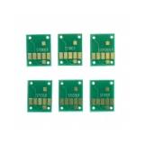 Чипы к ПЗК и СНПЧ для Canon PIXMA MG7750, MG7751, MG7752, MG7753, TS8050, TS8051, TS8052, TS8053, TS9050, TS9051, TS9052 (совм. PGI-570, CLI-571), автоматически обнуляемые, комплект 6 цветов