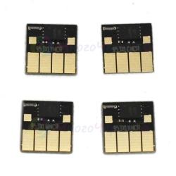 Чипы для HP OfficeJet Pro 8210, 8710, 7740, 7720, 7730, 8720, 8730, 8725, 8218, 8715, 8740 (совм. HP 953 / 957), совместимые, авто обнуляемые, комплект 4 цвета