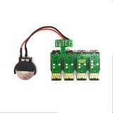 Чип к СНПЧ для Epson Expression Home XP-320, XP-420, XP-424, WorkForce WF-2760, WF-2750, WF-2630 для картриджей T220, с кнопкой сброса (планка чипов)