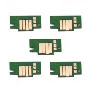 Чипы для Canon imagePROGRAF TX-4100, TX-3100, TX-2100, TX-4000, TX-3000, TX-2000 (картриджи PFI-110 / PFI-310/ PFI-710), комплект 5 цветов